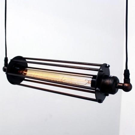 [福利品,共1盞]Loft正負極工業風吊燈